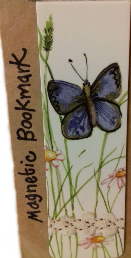 Butterfly Magnetic Bookmark